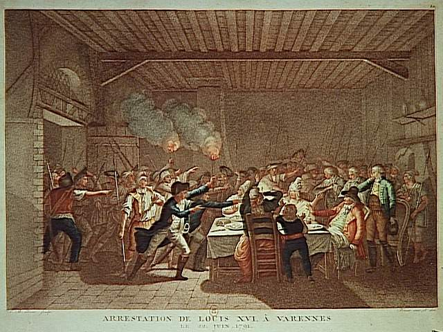 Arrestation de Louis XVI